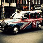 London Cab by Yvonne Falkenhagen