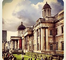 National Portrait Gallery, London by lanesloo
