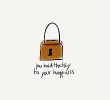 You Hold The Key To Your Happiness by Pamela Shaw