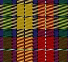 01800 Buchanan Clan/Family Tartan Fabric Print Iphone Case by Detnecs2013