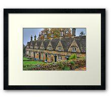 Chipping Norton Almshouses  Framed Print