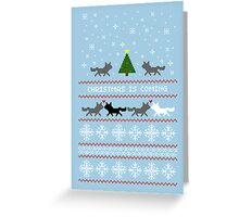 Christmas is coming Sweater + Card Greeting Card