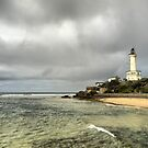 The Point Lonsdale Coast (2)  with Lighthouse by Larry Lingard/Davis