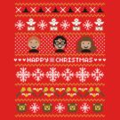 Harry Potter Ugly Christmas Sweater + Card by rydiachacha