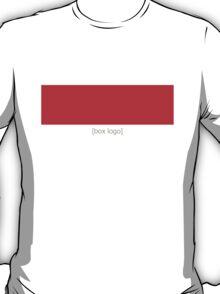 Red [Box Logo] T-Shirt