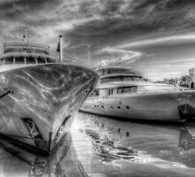 Atlantis Marina in Paradise Island, The Bahamas by Jeremy Lavender Photography