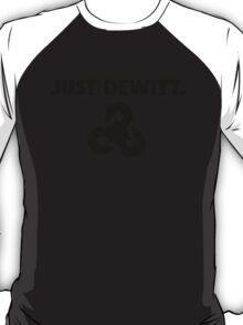 Just Dewitt. Bioshock Infinite (Black) T-Shirt