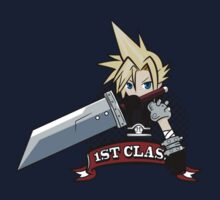 Cloud Soldier First Class by Hunter-Blaze