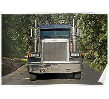 Logging Truck I Poster