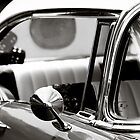 56 Chevy Bel Air BW by LawrencePhoto