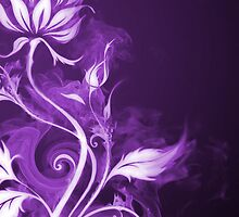 Flames Purple by Joey Kuipers