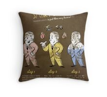 Bioshock - A Smart Splicer Throw Pillow