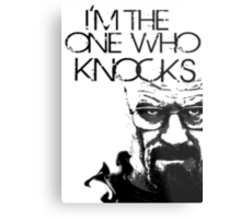 Heisenberg, I'm the one who knocks Metal Print