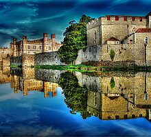 Reflections from a majestic Castle HDR by Anthony Hedger Photography