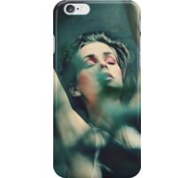 dancer behind the tree iPhone Case/Skin