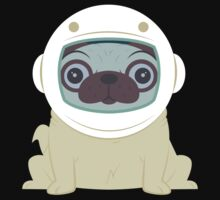 Pug in Space Kids Clothes