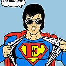 Superman Super Elvis Presley  by Creative Spectator