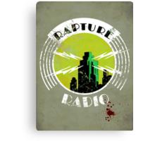Bioshock - Rapture Radio Canvas Print