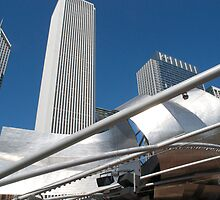 Chicago's Millenium Park by Imagery