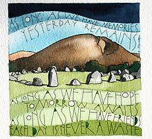 Stones by samcannonart