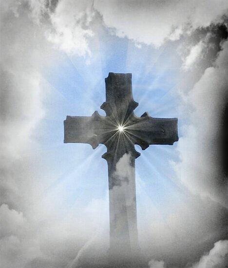 Heavenly Cross by Marie Sharp