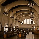 SANTA FE DEPOT SAN DIEGO CALIFORNIA by Thomas Barker
