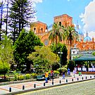 Downtown Cuenca by Al Bourassa