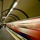 London Underground Tube by lanesloo