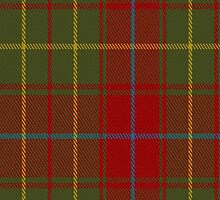 01835 Burnett of Powis Clan/Family Tartan Fabric Print Iphone Case by Detnecs2013