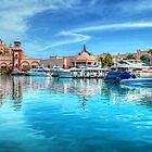 Marina and Atlantis Towers - Paradise Island, The Bahamas by 242Digital