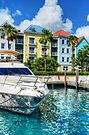Marina Village at Paradise Island in The Bahamas by Jeremy Lavender Photography