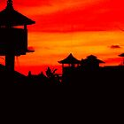 bali sunset by lainer15