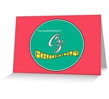 The wonderful Wizard of Oz  Greeting Card