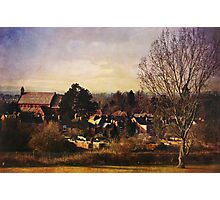 A view to St Barnabas (Worcester) Photographic Print