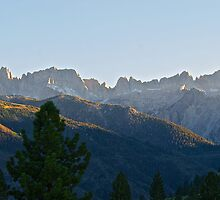 Jagged Mountain Peaks II by DaveKoontz