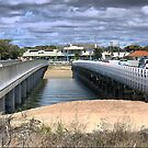 Barwon Heads (1)  A Perspective on Bridges from above. by Larry Lingard/Davis