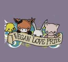Vegan Love Pride by reloveplanet