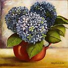 Blue Hydrangeas Sold by Sandra  Sengstock-Miller