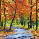 Autumn Path by Sally Ford