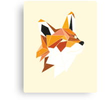 Faux Renard Canvas Print