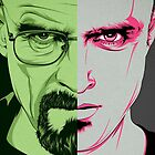 Walter White and Jesse Pinkman by stylishtech