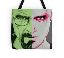 Walter White and Jesse Pinkman Tote Bag