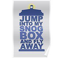 Snog Box (Tardis) Poster