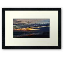 Quiet Solitary Moment Framed Print