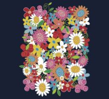 Spring Flower Power Kids Clothes