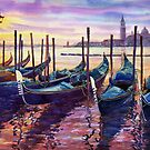 Italy Venice Early Mornings by Yuriy Shevchuk