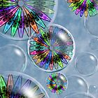 Bubbles and Pinwheels by GolemAura