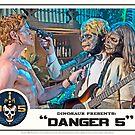 "Danger 5 Lobby Card #7 - ""Yeah, let's pop him"" by dinostore"