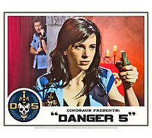 "Danger 5 Lobby Card #10 - ""Seed of the Fatherland"" Photographic Print"