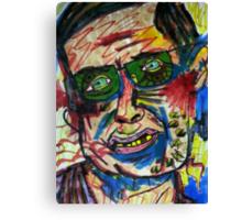 Stephen Hawking Canvas Print